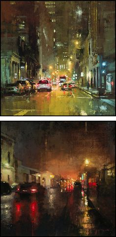 Cityscapes: Paintings by Jeremy Mann