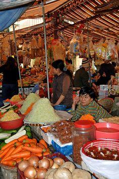 Market in Hanoi, Vietnam