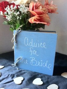 Advice for the Bride Wedding Book  Bridal Shower by TheSmilinBride, $34.00