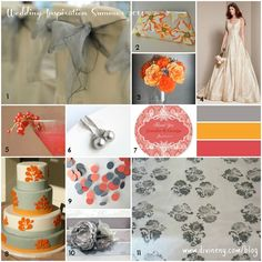 Planning a spring/summer #wedding?  Here are some color themes to inspire. | divineny.com/blog