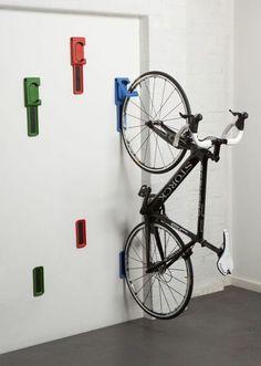Aprende cmo guardar la bicicleta en casa