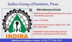 #Indira‬ group of Institute #Pune‬ offering #MBA‬ admission details !