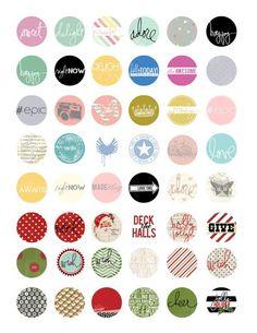 Free Heidi Swapp download printables | [ One Velvet Morning ]
