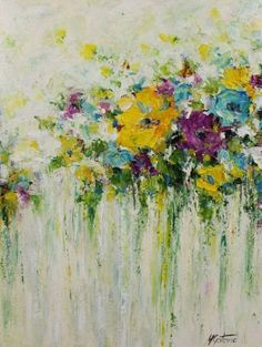 about Acrylic painting flowers