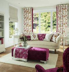 Prestigious Textiles have been designing beautiful interior fabrics and wallpapers for over 30 years. Choose from the UK's widest range of upholstery, cushion and curtain fabrics. Roman Blinds Inspiration, Prestigious Textiles, Made To Measure Curtains, Interior Decorating, Interior Design, Interior Ideas, Curtain Patterns, Fabric Suppliers, Fabric Houses