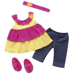 Our Fashionable doll clothes and outfits fit most dolls! Special collection  for 18 inch dolls outfits matching with beautiful little girls outfits. 2c0983858