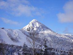 Kasagatake Shigakogen Winter In Japan, Mount Rainier, Mountains, Nature, Travel, Winter, Naturaleza, Viajes, Destinations