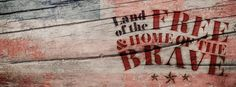 Land of the free. Cover Pics For Facebook, Facebook Header, Fb Cover Photos, Facebook Art, Facebook Banner, Twitter Headers, Free Facebook, Timeline Photos, Cover Pages