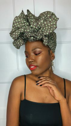 Featuring our gorgeous KORO headwrap. Learn an easy way to tie your headwrap in a giant bow to create statement.