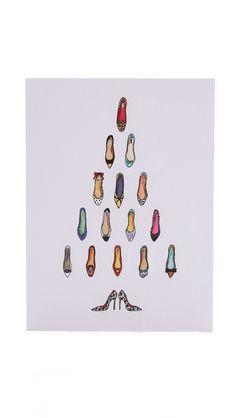 Shoe Tree Card Set (if I ever sent Christmas cards)