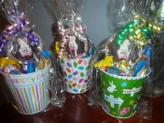 Easter Chocolate Pop Candy Pail $8.50
