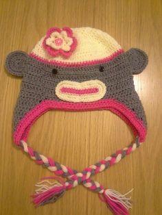 Funky monkey Monkey, My Design, Crochet Hats, Beanie, Fashion, Jumpsuit, La Mode, Beanies, Fashion Illustrations