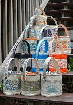 ikat bag: Lunch Buckets In The Shop!