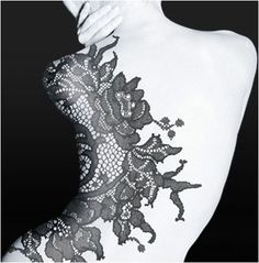 lace tattoos - Google Search