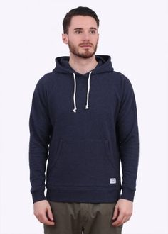 Norse Projects Ketel Hooded Sweater - Navy