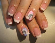 Puppy Love ♥ French Manicure