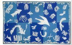 """Polynesie, la mer (Polynesia, the Sea)"", 1946 / Henri Matisse (1869-1954)"