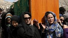 """""""The coffin of a woman, killed by a mob in Kabul on an apparently false charge, has been carried by women, marking a break with Afghan funeral customs. [...] An interior ministry official in charge of investigating the case said he had found no evidence that the woman had burnt the Koran. """"Farkhunda was totally innocent,"""" Gen Mohammad Zahir told reporters...""""."""