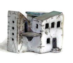 CERAMIC HOUSE  Ancient Spanish Hacienda by EuropeanRetro on Etsy, $125.00