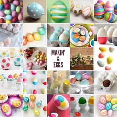 Mega Easter egg idea roundup!