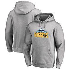 Denver Nuggets Team Essential Pullover Hoodie - Heather Gray - $59.99