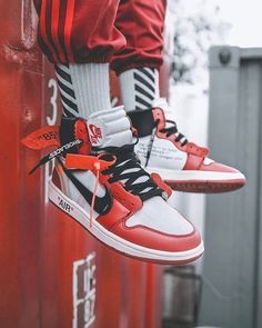 OFF-WHITE takes apart the Air Jordan 1 and gives it a brand new look. Are  you a fan  Tap the link in our bio to see more on feet images + release ... d5a172868