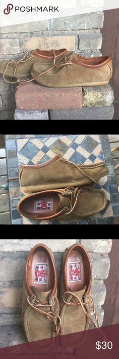 Moccasin chukka boots. Brown chukka boots. Never been worn. The causal fall boot. Lucky Brand Shoes Ankle Boots & Booties