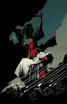 Hellboy: The Bride of Hell Art by Mike Mignola