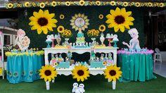 Pompón fiebre congelados girasol cumpleaños boda por gisellesbloom