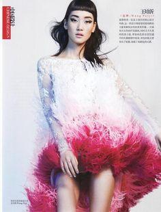 Lina Zhang for Vogue China May 2013
