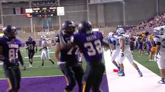 Panther fans share their touchdown dances. Thanks to the Cedar Falls firefighters, UNI dance team, UNI women's basketball coaching staff, Panther Pep Crew, the Boys & Girls Club, Chuck Rowe and mascots T.C. and T.K.