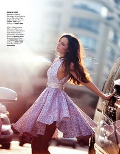 Anna De Rijk In Paris By David Bellemere For Vogue Thailand March 2013 As 'Luminous Ladies' - 3 Sensual Fashion Editorials | Art Exhibits - Anne of Carversville Women's News
