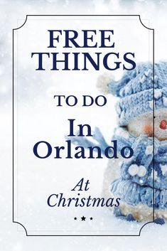 Free things to do in Orlando are not hard to find! Here are tons of FREE things to do in Orlando at Christmas to get you into the mood without spending any money! Visit Florida, Florida Vacation, Florida Travel, Vacation Trips, Travel Usa, Travel Advice, Travel Tips, Travel Hacks, Travel Guides