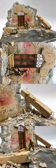 Other Military Models and Kits 1191: Diorama Blitz - 1 35Th Scale Kit W Base - Raqqa Middle East -> BUY IT NOW ONLY: $54.95 on eBay!