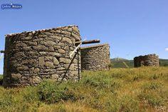 Información sobre los muíños de viento de Abalo, Catoira, Pontevedra