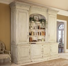"Biltmore™ Collection 10' ""The Library"" Bookcase/Media Center"