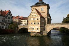 Altes Rathaus (old town hall), Bamberg, Bavaria, Germany
