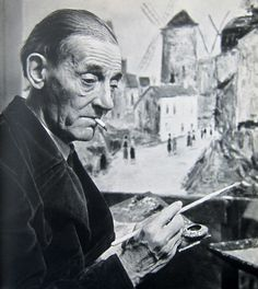 maurice utrillo  pressworksonpaper - blog - images from portrait + atelier