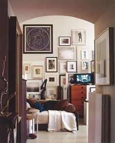 framed art - gallery wall