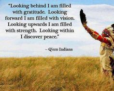 ~ Native Americans' wisdom ~