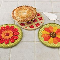 the pie potholder