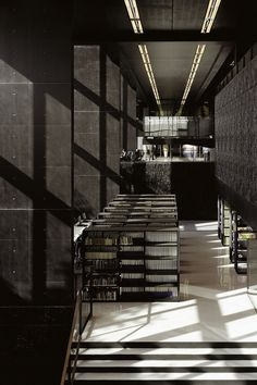 Utrecht: University Library, location campus, by Wiel Arets Architects