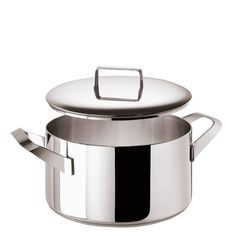 Menu Saucepot 2 handle and Lid, stainless steel, 9 1/2 inch