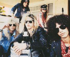 GNR Steven Adler  Duff McKagan  Slash  Izzy Stradlin  Axl Rose