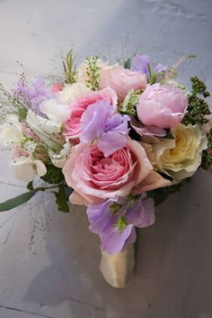 The Flower Magician: English Summer Garden Bouquet