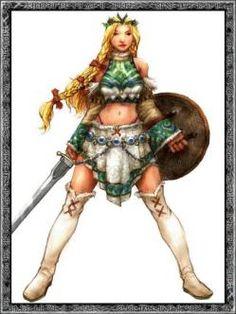 Fulla Diosa de la fertilidad, junto con Freya y Frigg. Srivienta de Frigg. Cuidadora del Ydgrasill, forma con las dos diosas anteriores las tres caras de la luna, siendo esta la virgen