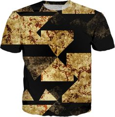 Miscellaneous shapes texture abstract design t-shirt
