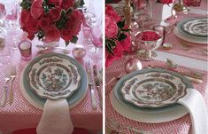 Chinoiserie Chic: table settings - Eddie Ross