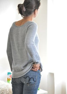 Heavenly by ANKESTRiCK ~ Ravelry #knittingsweater #knitting #knitpattern