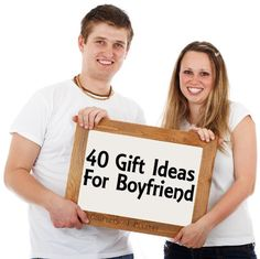 40 plus gift ideas of what to get your boyfriend for Christmas, his birthday or just to let him know you are thinking about him. The gift ideas run the gamut in price- from free to quite expensive.
